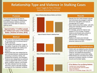 Relationship Type and Violence in Stalking Cases