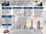 Alcohol, Marijuana, Texting, and Eating: The effects of distractions on driving performance