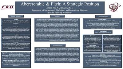 pestel abercrombie and fitch Alex wong 500283998 external analysis: pest analysis political in 2004 abercrombie and fitch were filed a lawsuit pertaining to employment practices the case called gonzález v abercrombie & fitch accused the firm of discrimination against racial minorities and women through hiring and.
