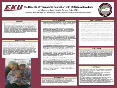 The Benefits of Therapeutic Recreation on Children with Autism