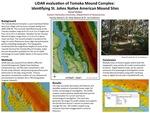 LiDAR evaluation of Tomoka Mound Complex, Identifying St. Johns Native American Mound Sites