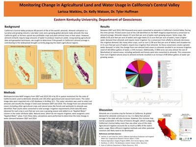Monitoring Land Use Change in California's Central Valley