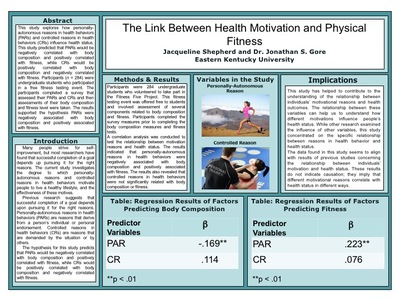 The Link Between Health Motivation and Physical Fitness