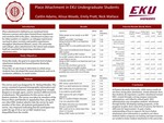 Place Attachment in EKU Undergraduate Students by Caitlin E. Adams, Alissa Woods, Emily Pratt, Nick Wallace, Michael Bradley, and James Maples