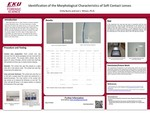 Identification of the Morphological Characteristics of Soft Contact Lenses by Emily Burns