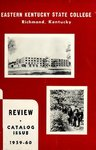 1959-60 Catalog by Eastern Kentucky State College