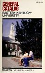 1979-81 Catalog by Eastern Kentucky University