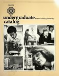 1984-86 Catalog by Eastern Kentucky University
