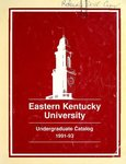 1991-93 Catalog by Eastern Kentucky University