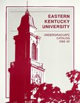 1993-95 Catalog by Eastern Kentucky University