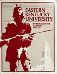 1995-97 Catalog by Eastern Kentucky University
