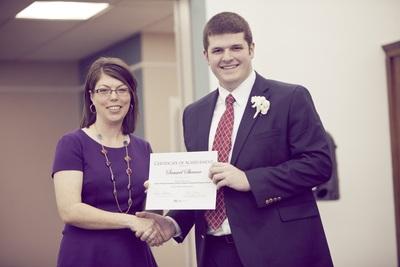 2014 EKU Libraries Research Award for Undergraduates Honorable Mention winner Samuel Shearer