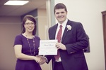 2014 EKU Libraries Research Award for Undergraduates Honorable Mention winner Samuel Shearer