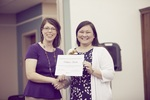 2014 EKU Libraries Research Award for Undergraduates 1st Place prize winner Kathline Hartch